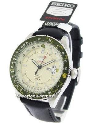 Seiko 5 Sports Automatic Pilot SRP615 SRP615K1 SRP615K Men's Watch