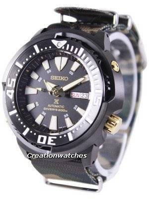 "Seiko Prospex ""Baby Tuna"" Automatic Diver's 200M SRP641K1-NATO5 Men's Watch"