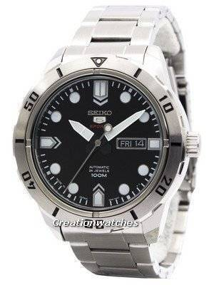 Seiko 5 Sports Automatic 24 Jewels Japan Made 100M SRP671 SRP671J1 SRP671J Men's Watch