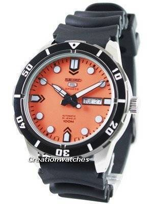Seiko 5 Sports Automatic 24 Jewels 100M SRP675 SRP675K1 SRP675K Men's Watch