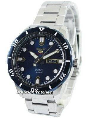 Seiko 5 Sports Automatic 24 Jewels 100M SRP677 SRP677K1 SRP677K Men's Watch