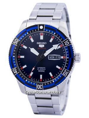 Seiko 5 Sports Automatic 24 Jewels Japan Made SRP731 SRP731J1 SRP731J Men's Watch