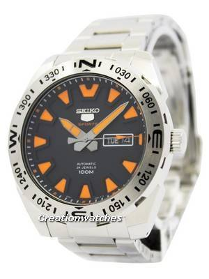 Seiko 5 Sports Automatic 24 Jewels 100M SRP741K2 Men's Watch