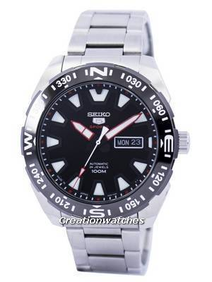 Seiko 5 Sports Automatic 24 Jewels Japan Made SRP743 SRP743J1 SRP743J Men's Watch