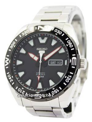 Seiko 5 Sports Automatic 24 Jewels 100M SRP743 SRP743K1 SRP743K Men's Watch