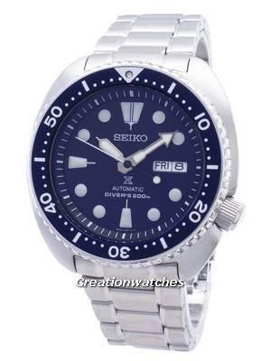Relógio 200m SRP773K1 SRP773K masculino Seiko Propex tartaruga automático de mergulhador