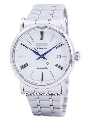 Seiko Premier Sapphire Automatic 23 Jewels Japan Made SRPA17 SRPA17J1 SRPA17J Men's Watch