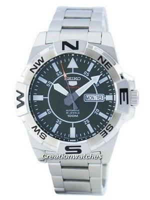 Seiko 5 Sports Automatic 24 Jewels Japan Made SRPA59 SRPA59J1 SRPA59J Men's Watch