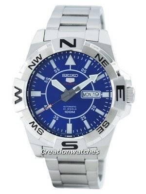 Seiko 5 Sports Automatic 24 Jewels Japan Made SRPA61 SRPA61J1 SRPA61J Men's Watch