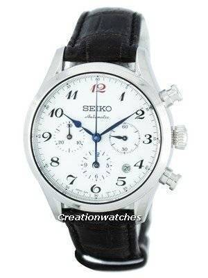 Seiko Presage Limited Edition Japan Made Automatic Chronograph SRQ019 SRQ019J1 SRQ019J Men's Watch