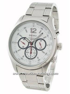 Seiko Chronograph  SRW007P1 SRW007P SRW007 Men's Watch