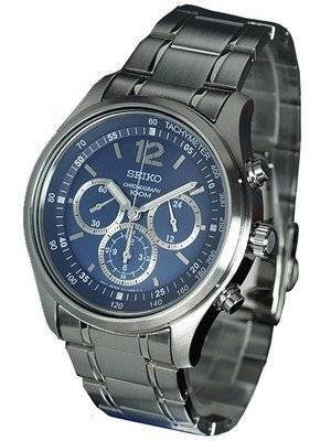 Seiko Chronograph SRW009P1 SRW009P SRW009 Men's Watch