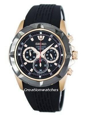Seiko Lord Quartz Chronograph SRW030 SRW030P1 SRW030P Men's Watch