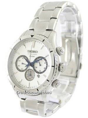 Seiko Chronograph Quartz 100M SRW033 SRW033P1 SRW033P Men's Watch