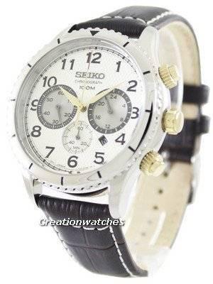 Seiko Chronograph Quartz 100M SRW039P1 SRW039P Men's Watch