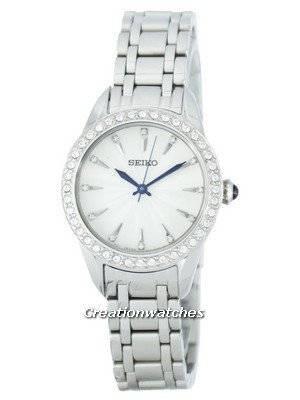 Seiko Quartz Swarovski Crystals SRZ385 SRZ385P1 SRZ385P Women's Watch