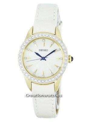 Seiko Quartz Swarovski Crystals SRZ386P2 Women's Watch
