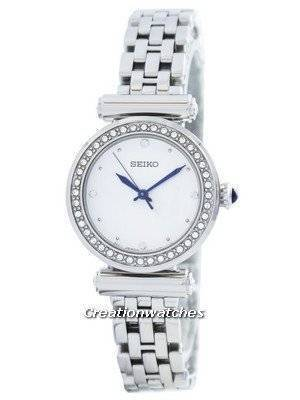 Seiko Quartz 44 Swarovski Crystals SRZ465 SRZ465P1 SRZ465P Women's Watch