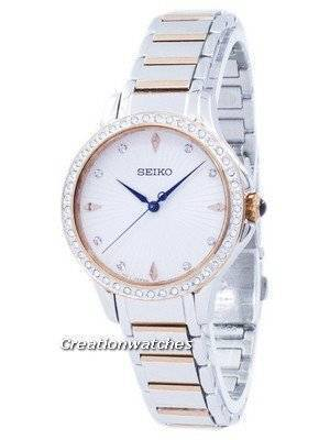 Seiko Quartz Diamond Accent SRZ486 SRZ486P1 SRZ486P Women's Watch