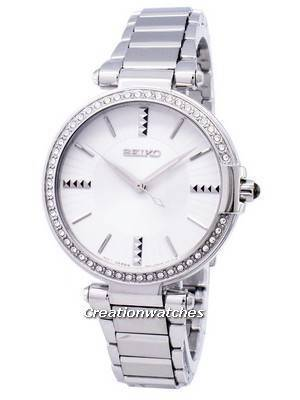 Seiko Quartz Diamond Accents SRZ515 SRZ515P1 SRZ515P Women's Watch