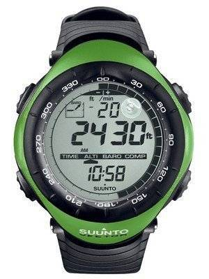 Suunto Vector Lime Green Digital Outdoor Sport SS010600M10 Watch