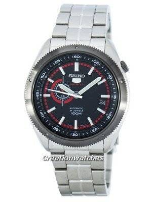 Seiko 5 Sports Automatic 24 Jewels SSA069 SSA069K1 SSA069K Men's Watch