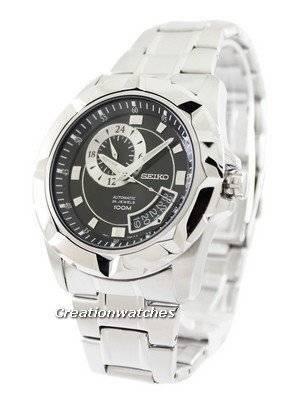 Seiko Automatic 24 Jewels 100M SSA219 SSA219K1 SSA219K Men's Watch
