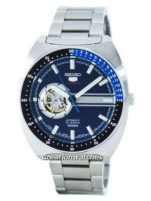 Seiko 5 Sports Automatic 24 Jewels Open Heart Dial Japan Made SSA327 SSA327J1 SSA327J Men's Watch