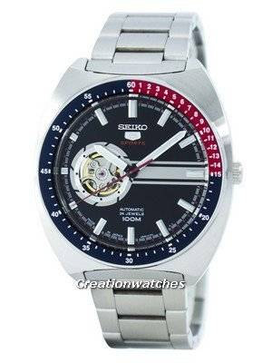 Seiko 5 Sports Automatic 24 Jewels Open Heart Dial Japan Made SSA329 SSA329J1 SSA329J Men's Watch