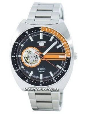 Seiko 5 Sports Automatic 24 Jewels Open Heart Dial Japan Made SSA331 SSA331J1 SSA331J Men's Watch