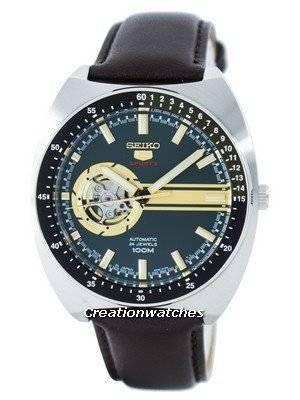 Seiko 5 Sports Automatic 24 Jewels Open Heart Dial Japan Made SSA333 SSA333J1 SSA333J Men's Watch