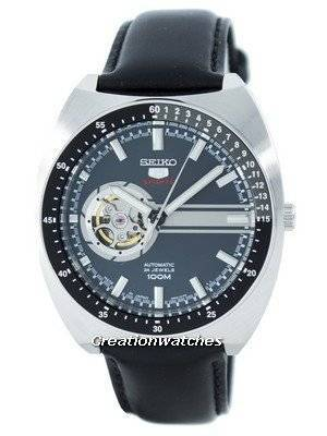 Seiko 5 Sports Automatic 24 Jewels Open Heart Dial Japan Made SSA335 SSA335J1 SSA335J Men's Watch