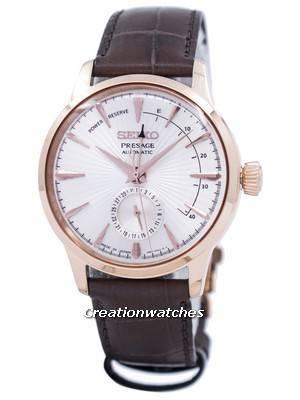 Seiko Presage Automatic Power Reserve Japan Made SSA346 SSA346J1 SSA346J Men's Watch