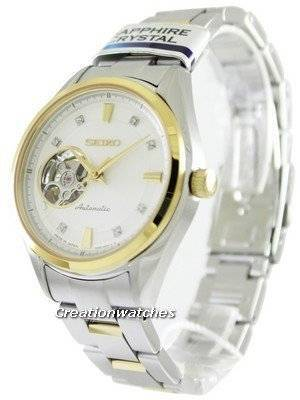 Seiko Automatic Sapphire Crystal Two Tone SSA868J1 SSA868J Women's Watch