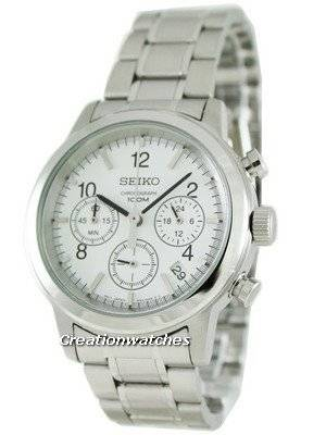 Seiko Chronograph Hardlex SSB001P1 SSB001 SSB001P Sports Mens Watch