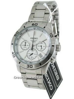 Seiko Classic Chronograph SSB047P1 SSB047P SSB047 Mens Watch