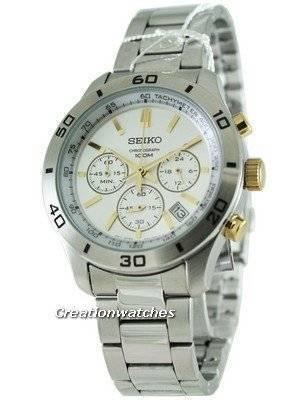 Seiko Classic Chronograph SSB051P1 SSB051P SSB051 Mens Watch