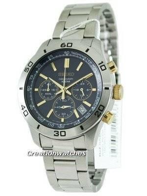 Seiko Classic Chronograph SSB055P1 SSB055P SSB055 Mens Watch