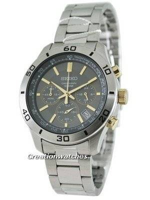 Seiko Classic Chronograph SSB057P1 SSB057P SSB057 Mens Watch