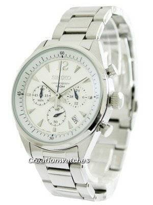 Seiko Chronograph SSB065 SSB065P1 SSB065P Men's Watch