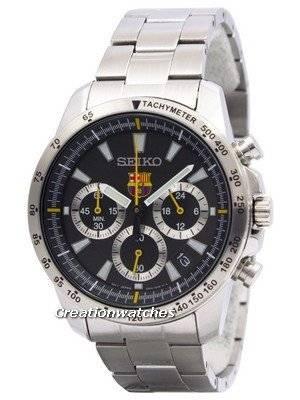 Seiko Quartz Chronograph FC Barcelona SSB073 SSB073P1 SSB073P Men's Watch