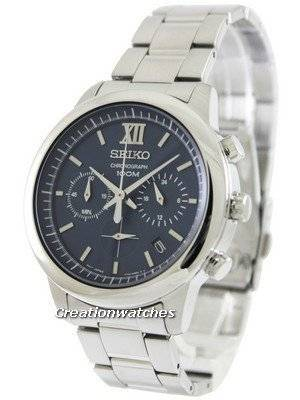 Seiko Chronograph SSB137P1 SSB137P Men's Watch