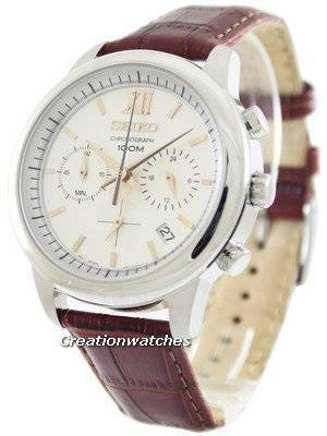 Seiko Chronograph 100M SSB143 SSB143P1 SSB143P Men's Watch