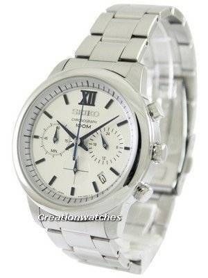 Seiko Chronograph SSB145P1 SSB145P Men's Watch