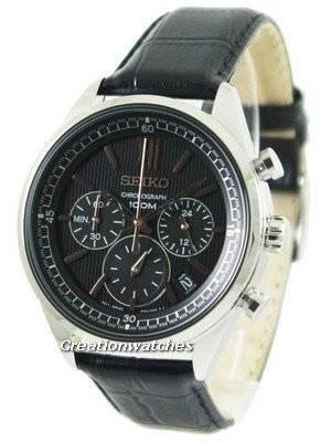 Seiko Chronograph 100M SSB159 SSB159P1 SSB159P Men's Watch