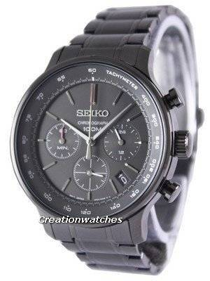 Seiko Chronograph Quartz Tachymeter SSB167P1 SSB167P Men's Watch