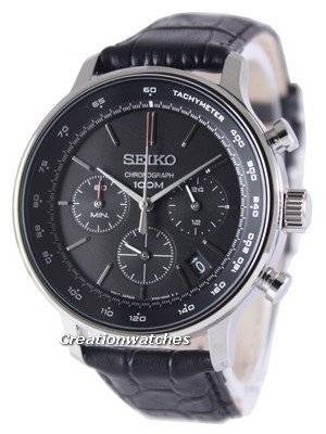 Seiko Chronograph Quartz Tachymeter SSB171 SSB171P1 SSB171P Men's Watch