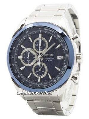 Seiko Quartz Chronograph SSB177 SSB177P1 SSB177P Men's Watch