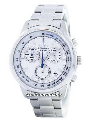 Seiko Sports Chronograph Quartz Tachymeter SSB203 SSB203P1 SSB203P Men's Watch