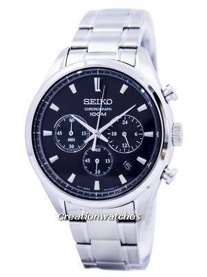 Seiko Quartz Chronograph SSB225 SSB225P1 SSB225P Men's Watch